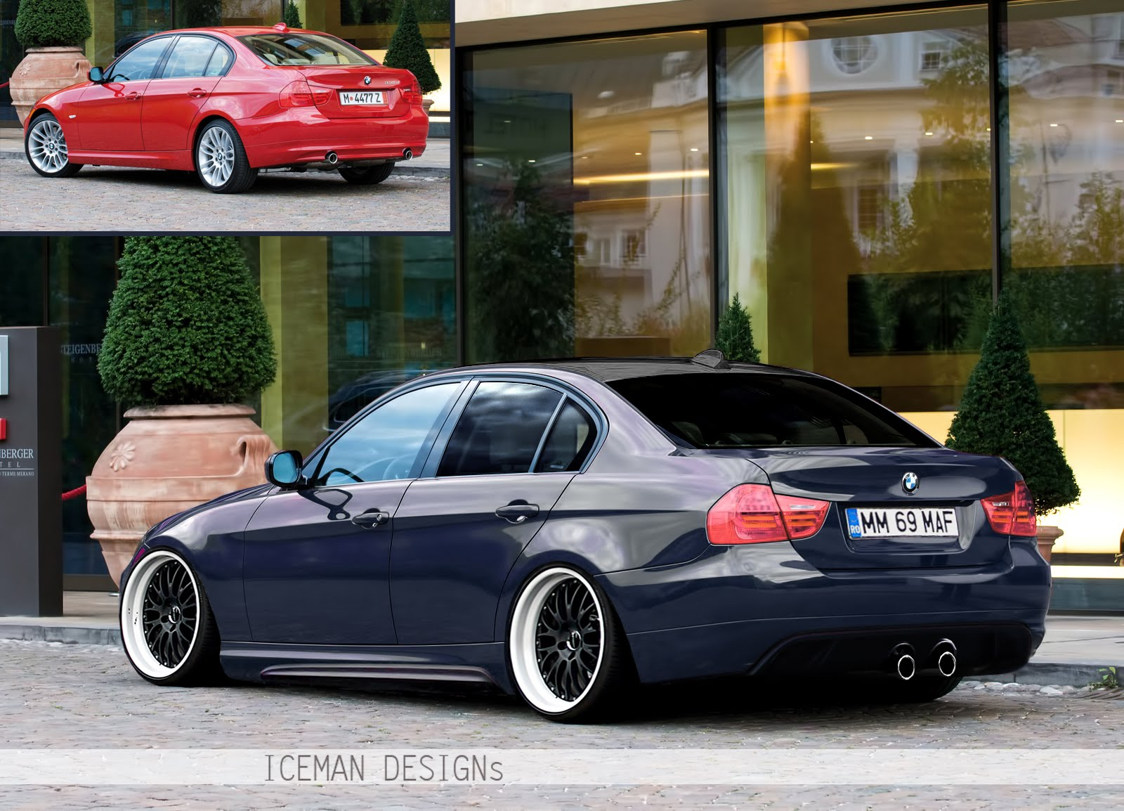 bmw 335d by iceman icemangraphics. Black Bedroom Furniture Sets. Home Design Ideas